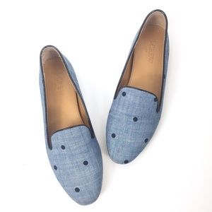 J. Crew Factory Size 6 Addie Dot Loafers